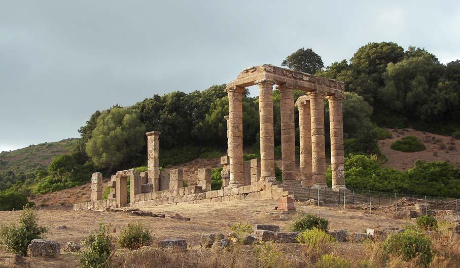 viaggi archeologici tra mare e miniere- tempio di antas